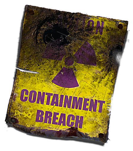 Containment Breach Escape Room Logo